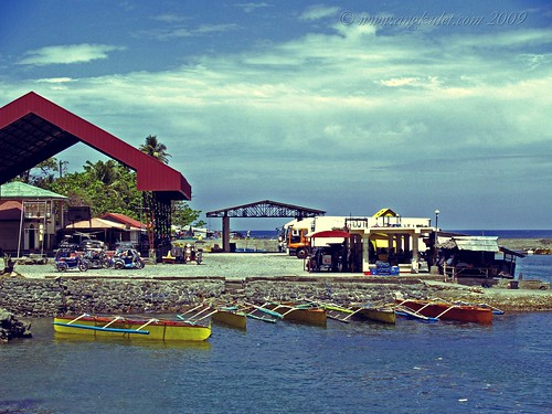 Port in Bolinao, Pangasinan
