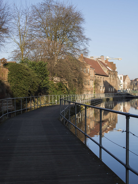 Mechelen Dyle path