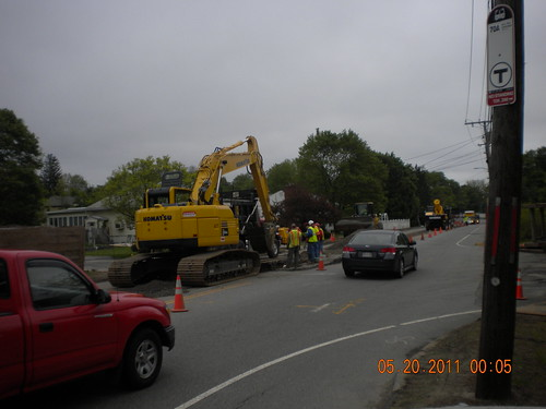 Totten Pond Road Construction