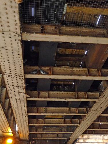 Surbiton Railway Bridge - underside
