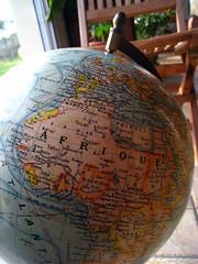 World globe, Globe