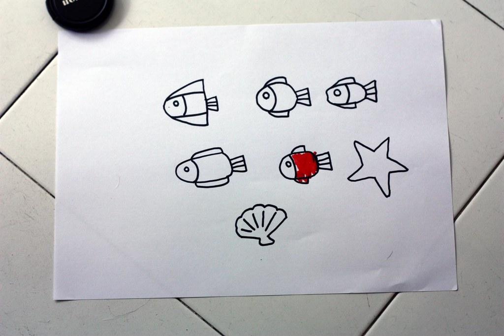 ari drew a few fish to start