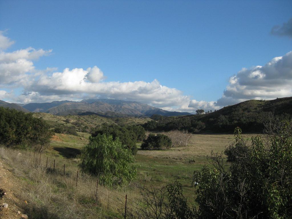 Santiago Canyon after Rain
