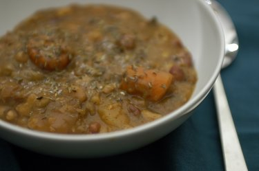 vegan cholent