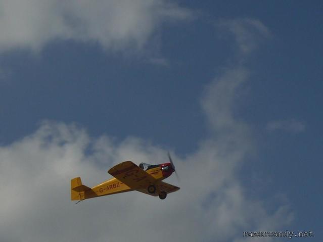 18 P1130856 Druine D.31 Turbulent {G-ARBZ} _ City Airport - 2009 (4th July)
