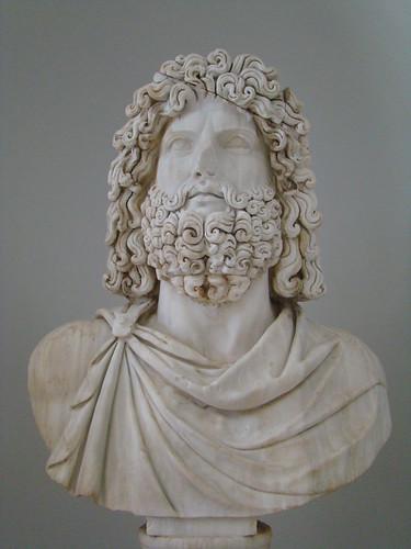 Busto de Jupiter Museo Sabratha escultura Libia 02