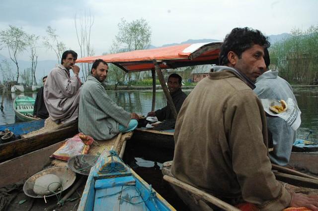 Floating market, Dal Lake, Srinagar, Kashmir