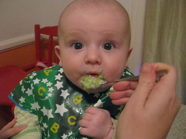 A new green food...peas!