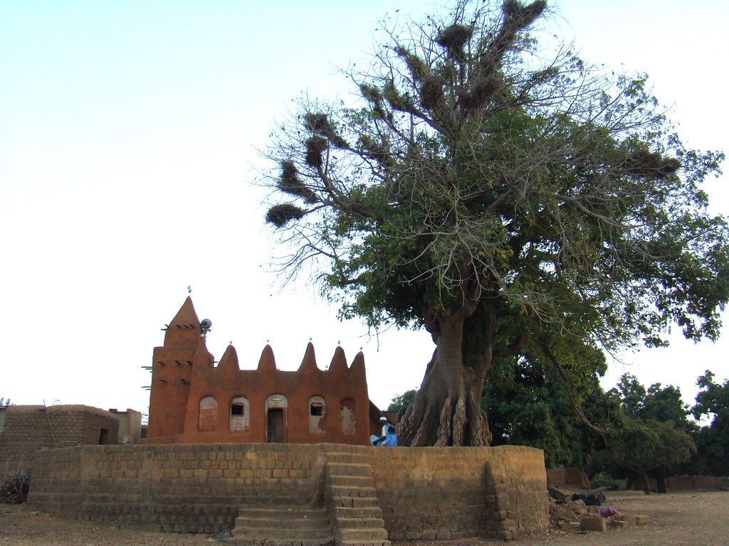 Mezquita Aldea Segoukoro Mali 08