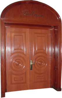 Ballroom Door - Hotel Del Coronado Ruthart