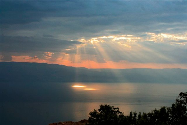 Dead Sea & Holy Light