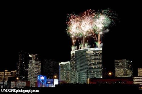 Project CityCenter Grand Opening Firework Show