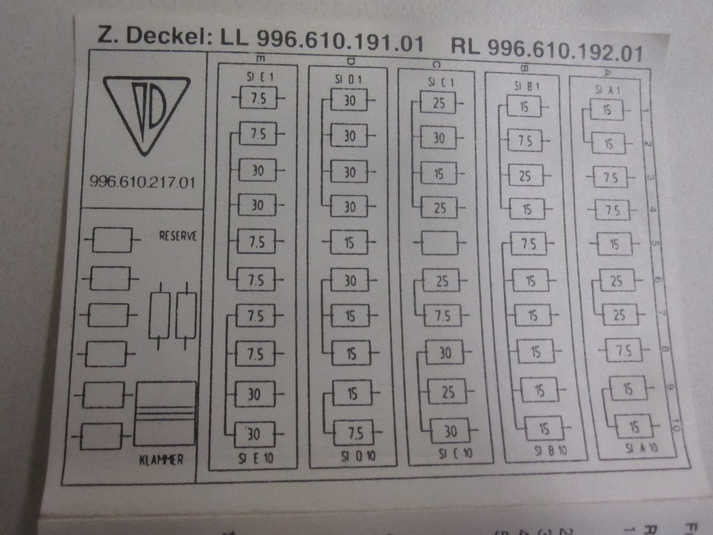 hight resolution of car fuse diagrams porsche boxster 2001 2001 ford f450 fuse 1997 porsche boxster fuse box diagram