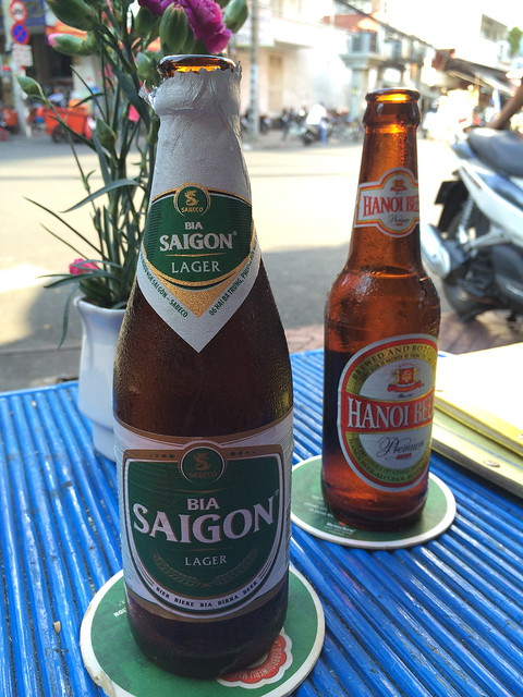 Vietnamese beer - Go2 Bar