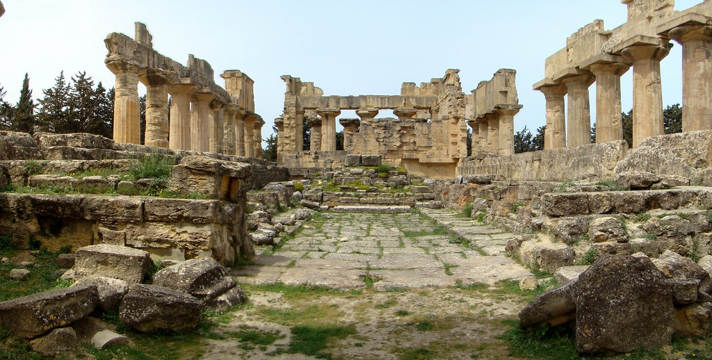 Templo de Zeus Cirene Libia 07