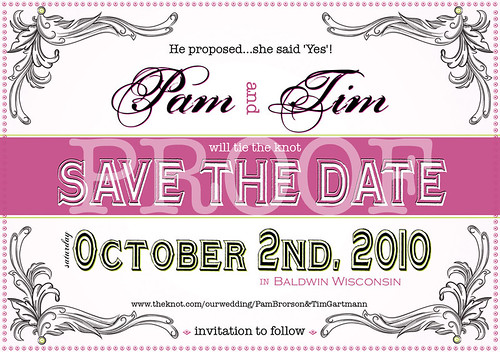 Save the dates Back