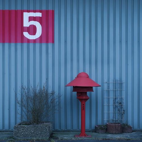 Markiert Fünf sind Drei