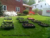 Front Yard Raised Bed Garden | Flickr - Photo Sharing!
