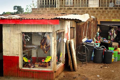 Meat Store in Kawangware Slum