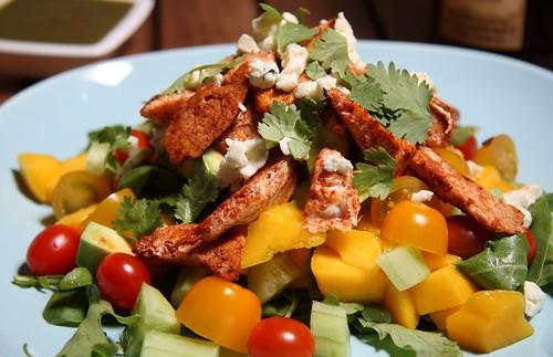 Chili Chicken & Mango Salad