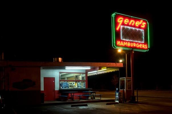 Gene's Drive-In - 2515 South Market Street, Redding, California U.S.A. - January 9, 2010