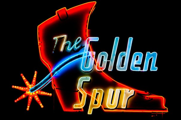 The Golden Spur Restaurant - 1223 East Route 66, Glendora, California U.S.A. - June 20, 2009