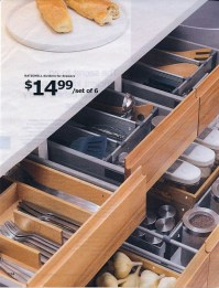 Kitchen Rationell dividers for drawers IKEA | Flickr ...