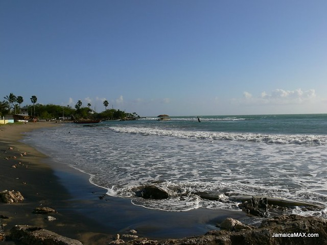 Black Sand of Treasure Beach Jamaica  Pictures from around   Flickr