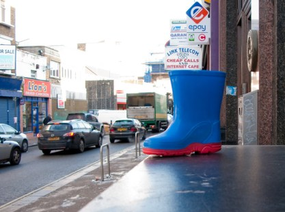 superhero boot found