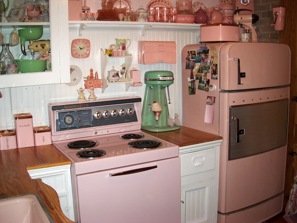 antique kitchen appliances hgtv backsplash details on pinterest 1950s lee friedlander and