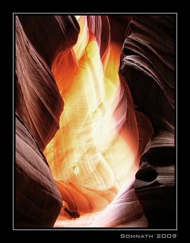 Antelope Slot Canyon - 1 by Somnath Mukherjee Photoghaphy