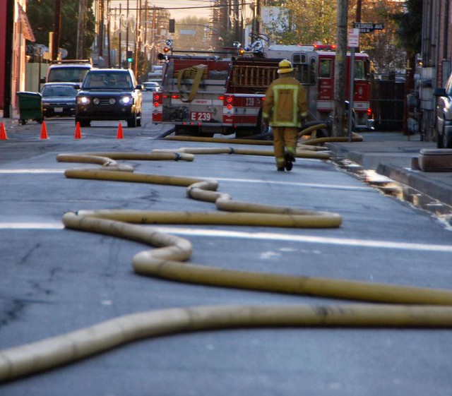 Large Diameter Fire Hose