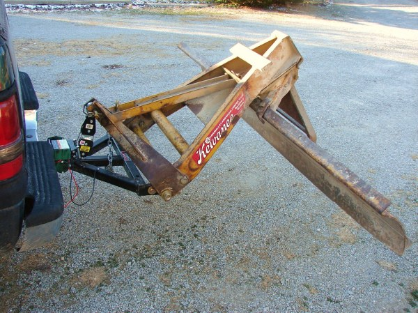 homemade rear snow plow! PlowSite