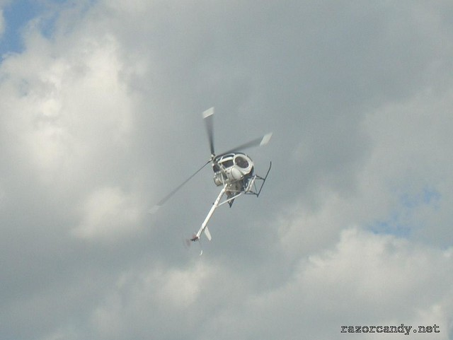 2 CIMG4297 Schweizer Helicopter {G-BWAV} _ City Airport - 2007 (7th July)