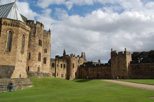 Esterno del Castello di Hogwarts