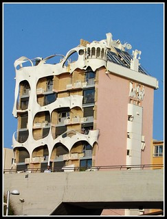 The Gaudi House in Tel Aviv by Flavio, on Flickr