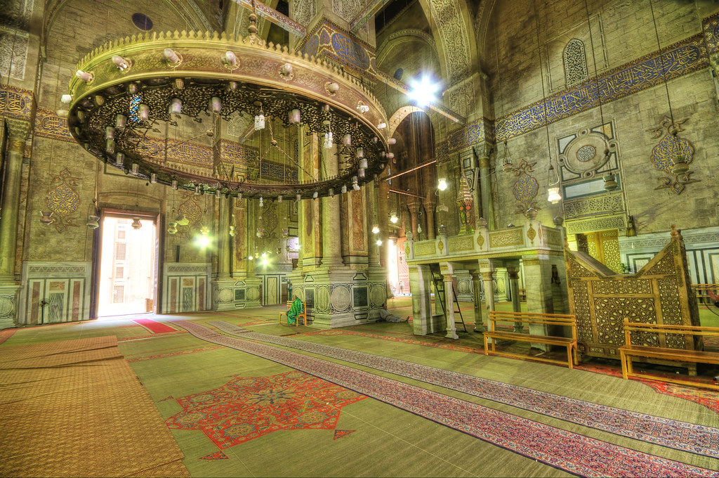 The Beautiful Prayer room at The AlRifai Mosque  Happy Ho  Flickr