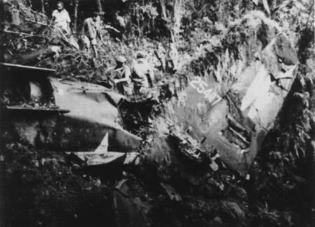 A-20 Wreckage