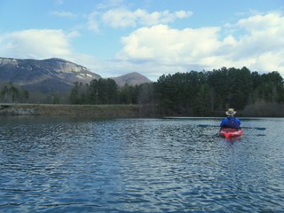 Alan on Lake Oolenoy