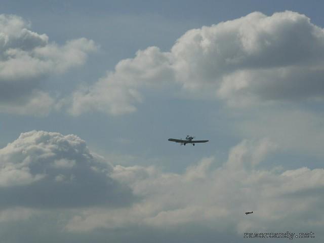 25 P1130864 Druine D.31 Turbulent {G-ARGZ}  _  City Airport - 2009 (4th July)