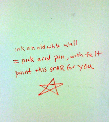 Haiku on the Wall by DRheins