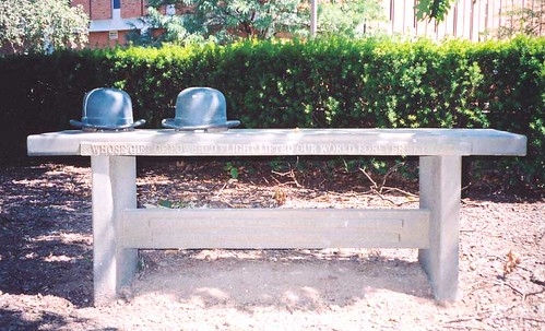 Wright Brothers Bench, Wright State University