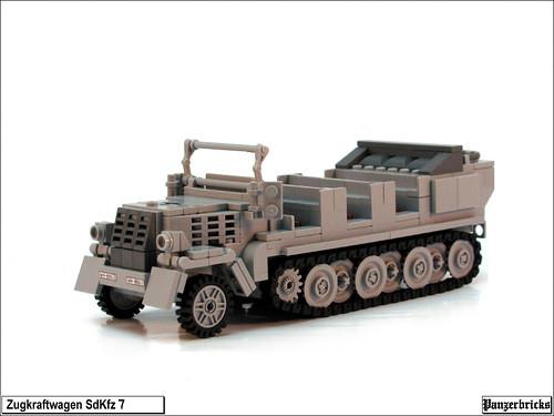 SdKfz 7 de Panzerbricks