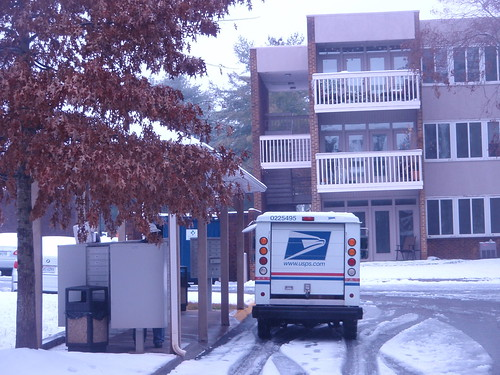 nothing stops the mail