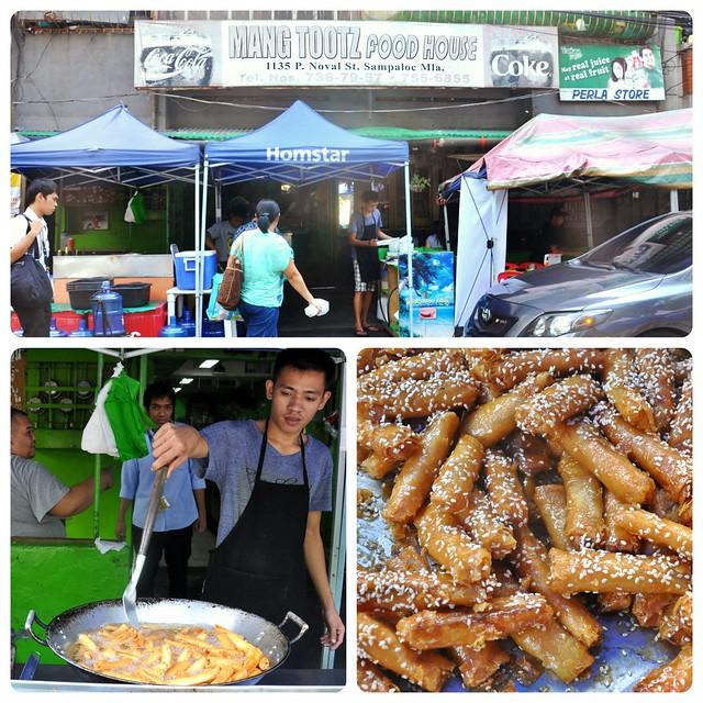Mang Tootz Food House Banana-rhuma