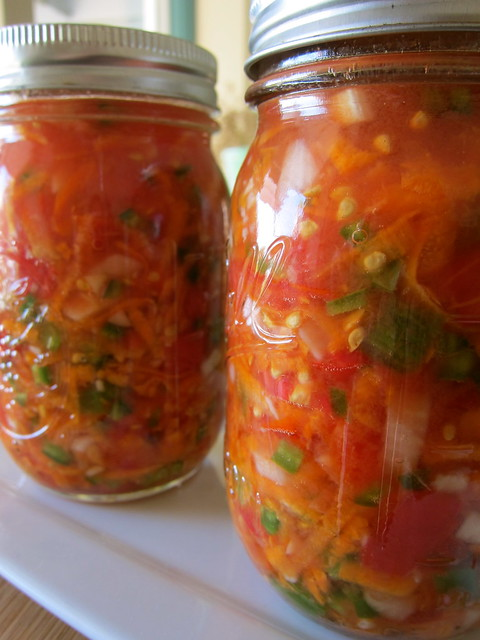 Putting Up: Carrot Salsa