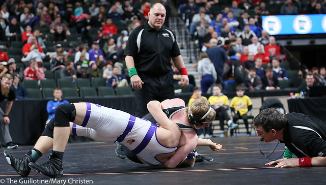 182AA - 5th Place Match - Holt Truax (Bertha-Hewitt-Verndale) 39-7 won by fall over Gabe Zierden (Albany) 25-3 (Fall 0:34)