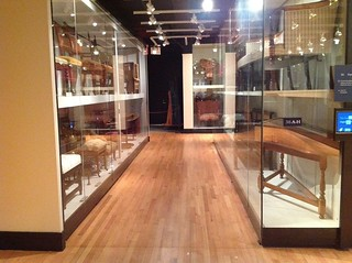 open storage at the Met Museum