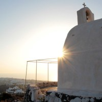 Postcards: Sunsets in Oia (GR)