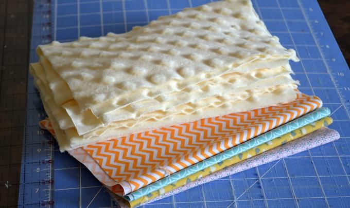 Minky Burp Cloth Sewing Tutorial